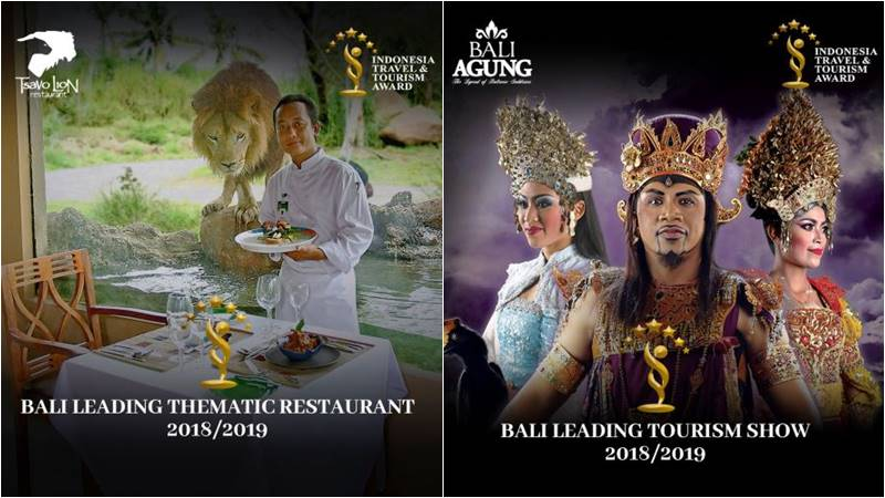 Prestigious Award From ITTA to Mara River Safari Lodge and Bali Safari Park 2
