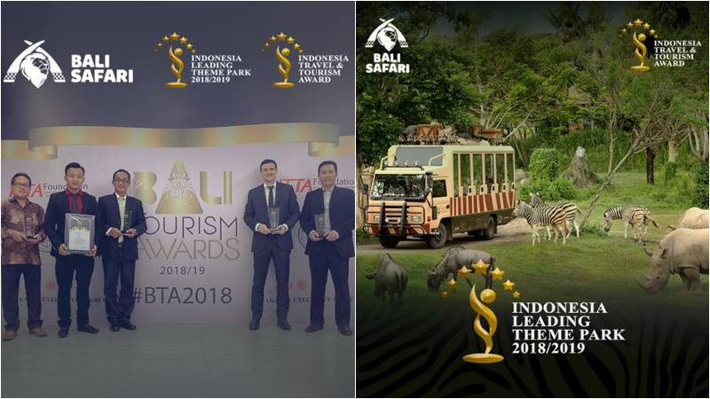 Prestigious Award From ITTA to Mara River Safari Lodge and Bali Safari Park 1