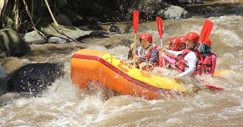 bali night safari tour package with Ayung rafting and spa combination