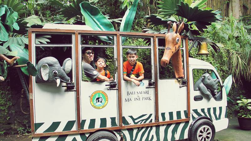 Comfortable and Enjoyable Holidays According to Children's Favorite in Bali Safari Park 2