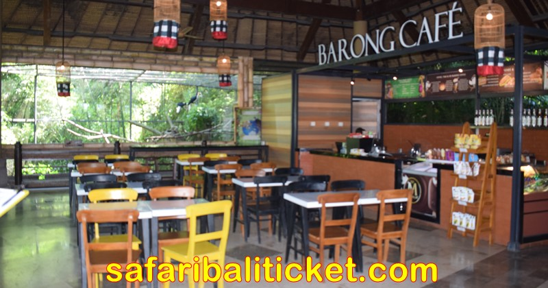 barong cafe at bali safari marine park