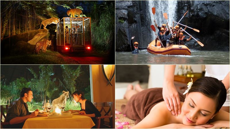 [BSM-001] Ayung Rafting Spa  Bali Night Safari Tour Package 3