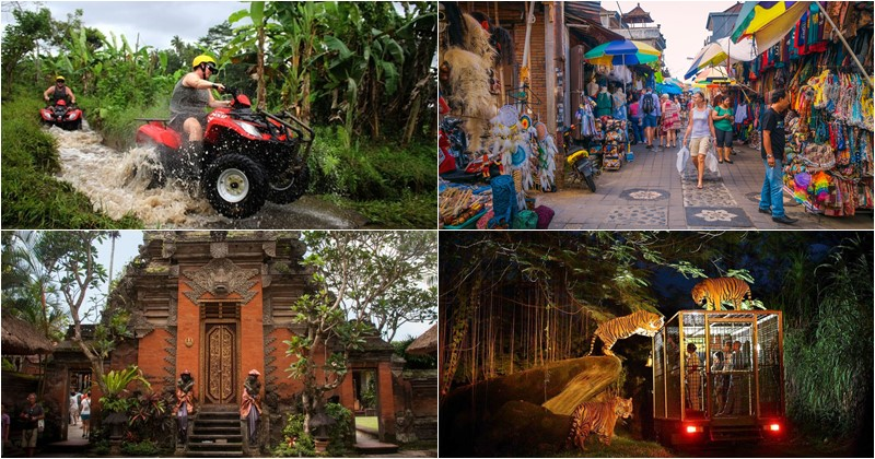 bali night safari atv ride package