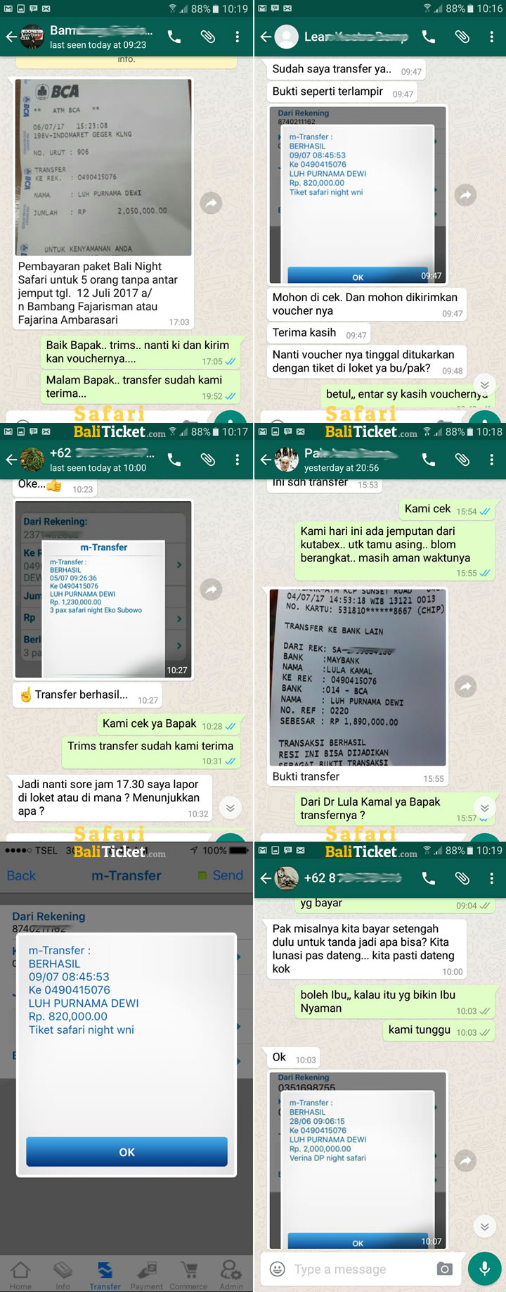 Harga Promo New Normal Bali Safari Tiket Domestik 5
