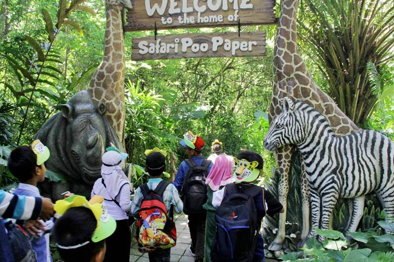 Comfortable and Enjoyable Holidays According to Children's Favorite in Bali Safari Park 1