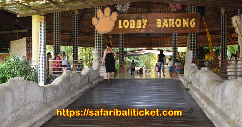 Lobby Barong is one of the lobby at Bali Safari & Marine Park