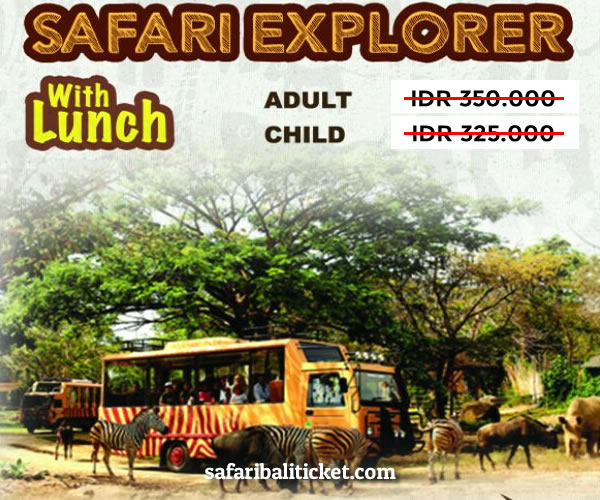 Harga Promo New Normal Bali Safari Tiket Domestik 3