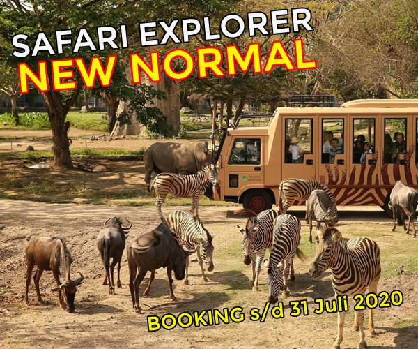Harga Promo New Normal Bali Safari Tiket Domestik 2