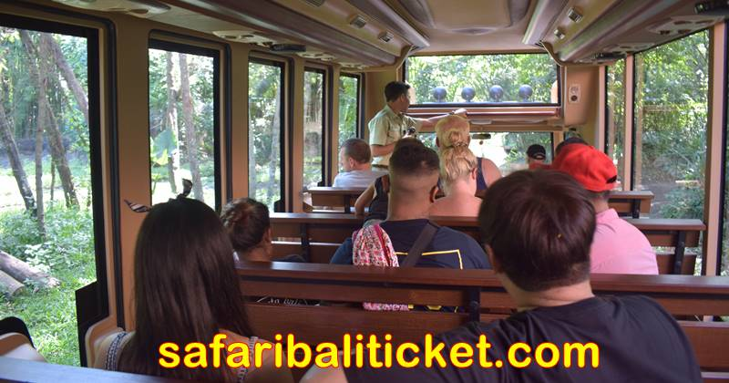 Bali Safari marine Park ticket holder will have safari journey