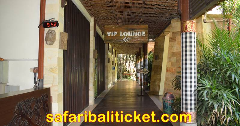 VIP Lounge for Bali Safari marine park tickets Rhino
