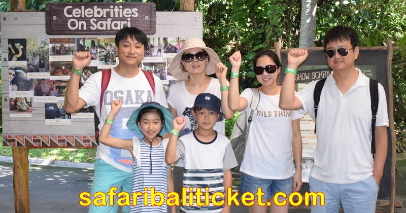 Bali Safari Marine Park tickets on your wrist